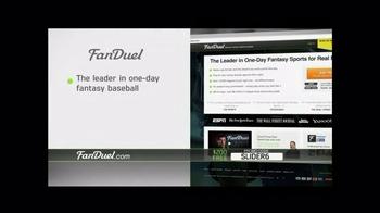 FanDuel Fantasy Baseball One-Day Leagues TV Spot, 'Hooked' - Thumbnail 9