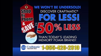 Craftmatic TV Spot, 'Discover Craftmatic' - Thumbnail 10