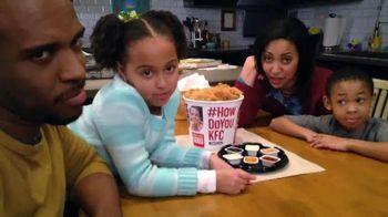 KFC Dip'Ems Bucket TV Spot, 'Dipping is Fun' - 165 commercial airings
