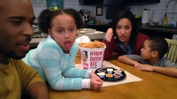 KFC Dip'Ems Bucket TV Spot, 'Dipping is Fun' - Thumbnail 1