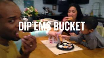 KFC Dip'Ems Bucket TV Spot, 'Dipping is Fun' - Thumbnail 10