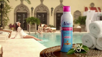 Nair Spray Away TV Spot
