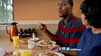 IHOP Cinnamon Swirl Brioche French Toast TV Spot - Thumbnail 6