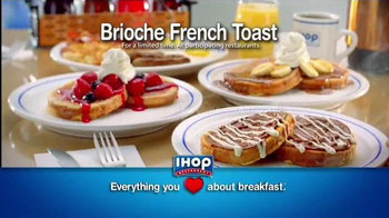IHOP Cinnamon Swirl Brioche French Toast TV Spot - Thumbnail 9