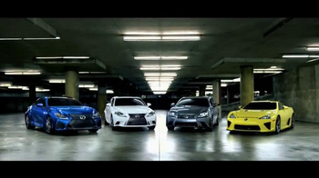 Lexus F Class TV Spot, 'The Performance Side of Lexus' - Thumbnail 9