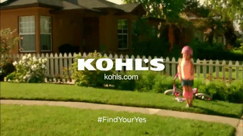 Kohl's TV Spot, 'Find Your Yes: Training Wheels' - Thumbnail 10
