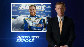 Aaron's TV Spot, 'Own It' Featuring Brian Vickers - Thumbnail 1