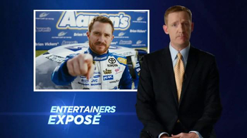 Aaron's TV Spot, 'Own It' Featuring Brian Vickers - Thumbnail 7