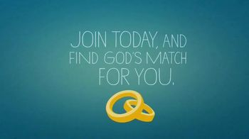 ChristianMingle.com TV Spot, \'Find God\'s Match for You\'