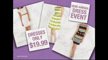 K&G Fashion Superstore Semi-Annual Dress Event TV Spot