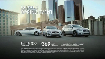 Infiniti Limited Engagement Spring Event TV Spot, 'After Winter' - Thumbnail 9