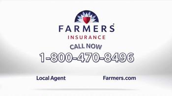 Farmers Insurance TV Spot, 'Cut, Lower, Shave' - Thumbnail 10