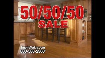 Empire Today 50/50/50 Sale TV Spot