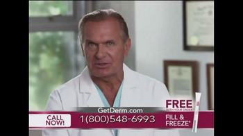 Derm Exclusive Fill & Freeze TV Spot Featuring Dr. Andrew Ordon