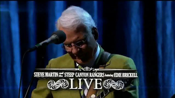 Steve Martin and the Steep Canyon Rangers Live TV Spot - 2 commercial airings