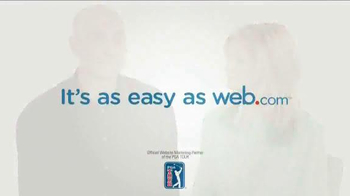 Web.com TV Spot Featuring Jim and Tabitha Furyk - Thumbnail 9
