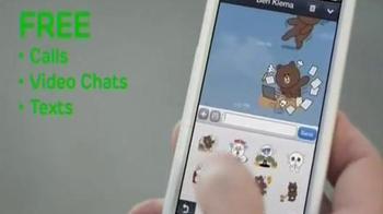 Line App TV Spot, 'Tom & Clarissa' - Thumbnail 7