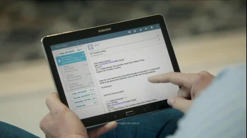 Samsung Galaxy Pro Tab TV Spot, 'Multi-User Mode' - Thumbnail 1