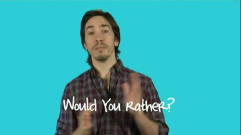 Do Something Organization TV Spot, 'Play Would You Rather' Ft. Justin Long - Thumbnail 1
