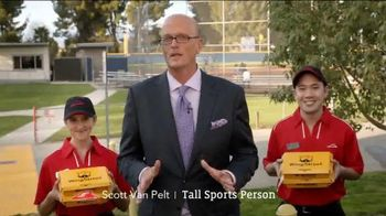 Pizza Hut WingStreet TV Spot, 'Rec League Softball Team' Ft. Scott Van Pelt