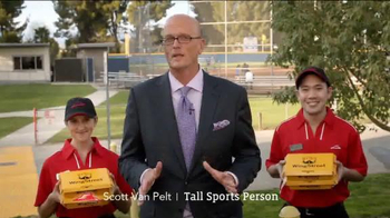 Pizza Hut WingStreet TV Spot, 'Rec League Softball Team' Ft. Scott Van Pelt - Thumbnail 1