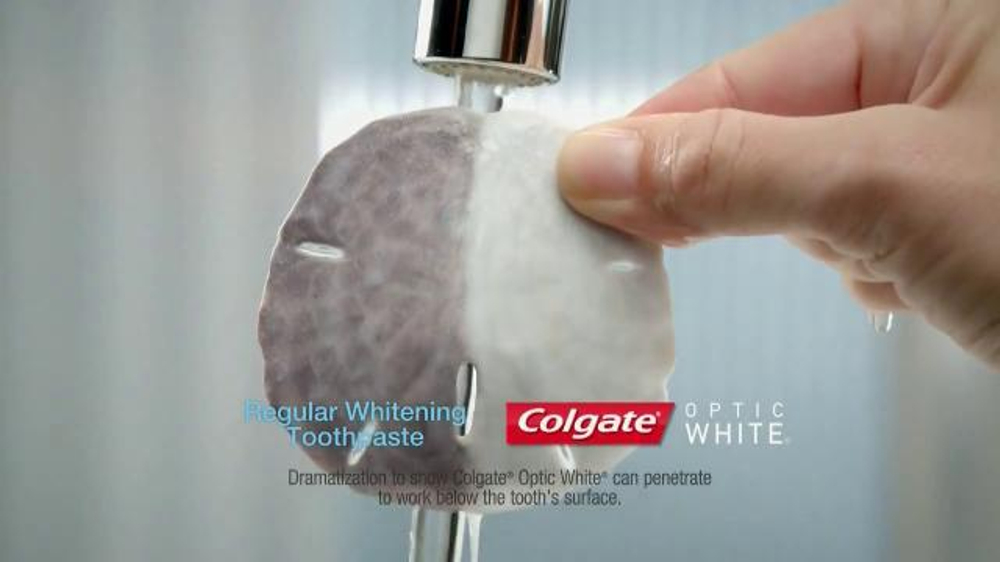 Colgate Optic White TV Commercial, 'Sand Dollar'