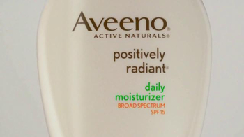 Aveeno Positively Radiant Daily Moisturizer TV Spot Feat. Jennifer Aniston - Thumbnail 4