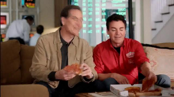 Papa John's TV Spot, 'Online Leadership' Featuring Jim Nanz - Thumbnail 6