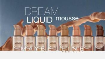 Maybelline New York Dream Liquid Mousse TV Spot - Thumbnail 8