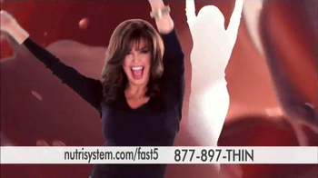 Nutrisystem Fast 5 TV Spot, 'First Five Pounds' Featuring Marie Osmond - Thumbnail 1