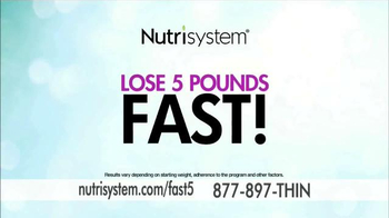 Nutrisystem Fast 5 TV Spot, 'First Five Pounds' Featuring Marie Osmond - Thumbnail 2