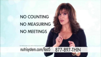 Nutrisystem Fast 5 TV Spot, 'First Five Pounds' Featuring Marie Osmond - Thumbnail 3