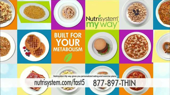 Nutrisystem Fast 5 TV Spot, 'First Five Pounds' Featuring Marie Osmond - Thumbnail 4