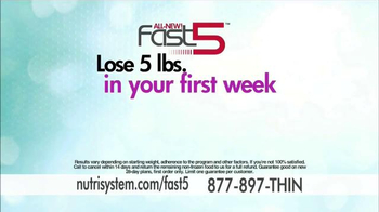 Nutrisystem Fast 5 TV Spot, 'First Five Pounds' Featuring Marie Osmond - Thumbnail 7