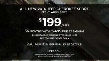 2014 Jeep Cherokee Sport TV Spot, 'Boots' - Thumbnail 9
