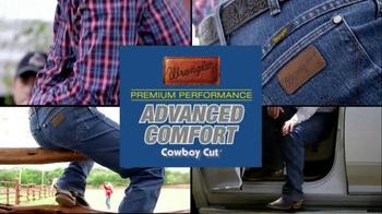 Wrangler Advanced Comfort TV Spot featuring Trevor Brazile - Thumbnail 5