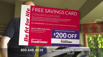 Bowflex TreadClimber TV Spot, 'Men Walking' - Thumbnail 6