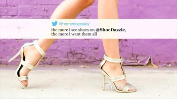 Shoedazzle.com TV Spot, 'Tweets' Song by Icona Pop - 583 commercial airings