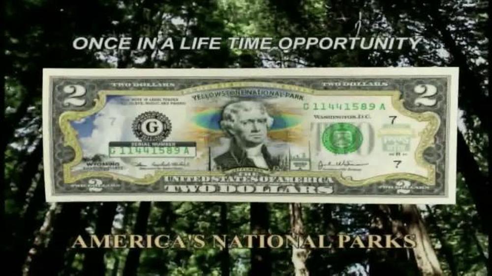 New England Mint $2 National Park Bills TV Spot