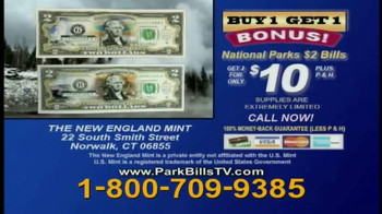 New England Mint $2 National Park Bills TV Spot - Thumbnail 10