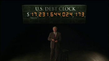 Rosland Capital TV Spot, 'U.S. Debt Clock'