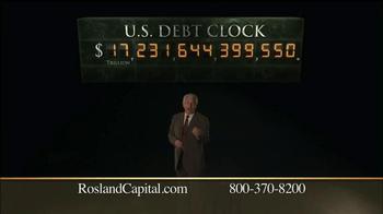 Rosland Capital TV Spot, 'U.S. Debt Clock' - Thumbnail 6