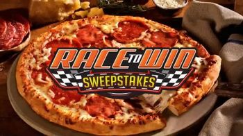 Hunt Brothers Pizza TV Spot, \'Race to Win Sweepstakes\'