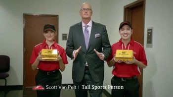 Pizza Hut WingStreet TV Spot, 'Hungry College Kids' Ft. Scott Van Pelt - 136 commercial airings