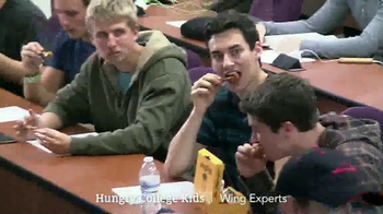 Pizza Hut WingStreet TV Spot, 'Hungry College Kids' Ft. Scott Van Pelt - Thumbnail 6