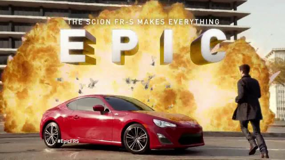 2014 Scion FR-S TV Commercial, 'Makes Everything Epic' - iSpot.tv