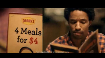 Denny's 4 Meals for $4 TV Spot, 'Boom' - Thumbnail 1