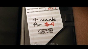 Denny's 4 Meals for $4 TV Spot, 'Boom' - Thumbnail 8