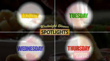 Golden Corral TV Spot, 'Marquee Weekend Dinner Spotlights'