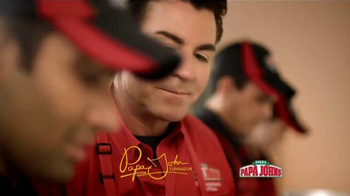 Papa John's Double Pepperoni and Bacon Pizza TV Spot [Spanish] - Thumbnail 1